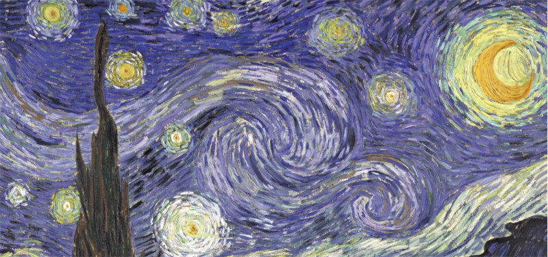 starry starry night by van gogh