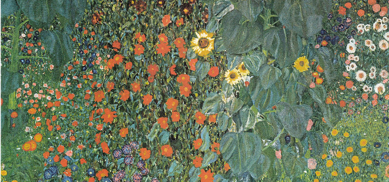 flowers by klimt