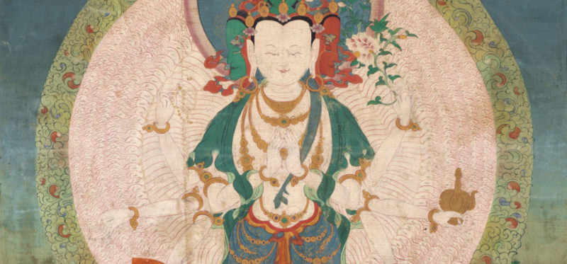 a thousand armed avalokiteshvara