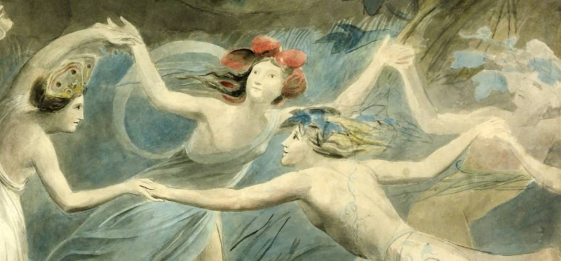 nymphs dancing in the round