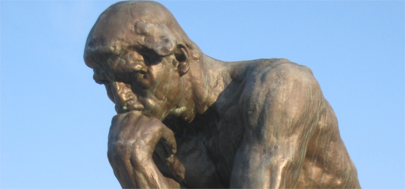 rodin's sculpture of the thinker
