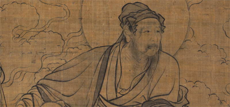 a chinese depiction of vimalkirti