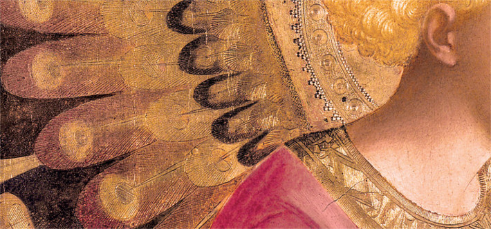 detail of an angel
