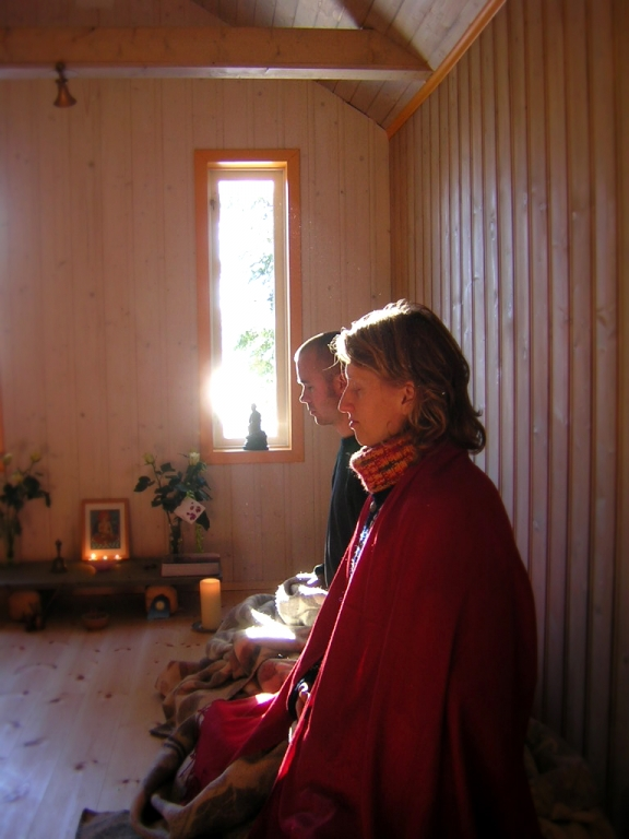 What is meditation the buddhist centre for Small meditation room