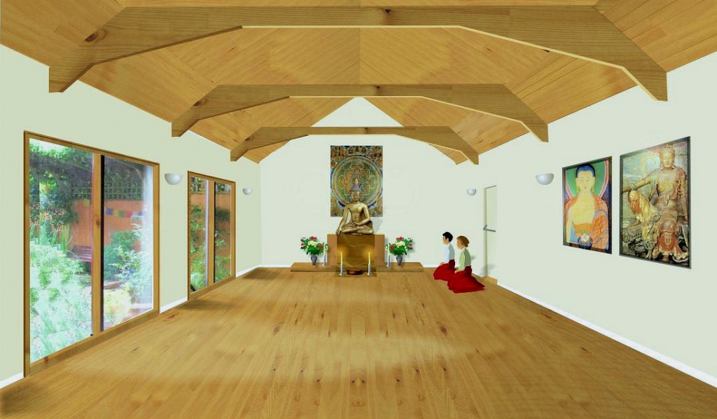 Croydon Buddhist Centre Plans New Shrine Room The