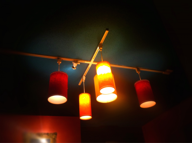 Lamps At The Blue Mermaid