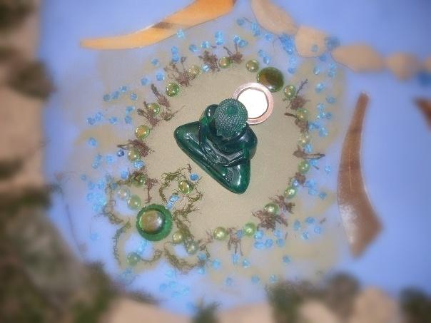 Green Shrine by Sinhacandra