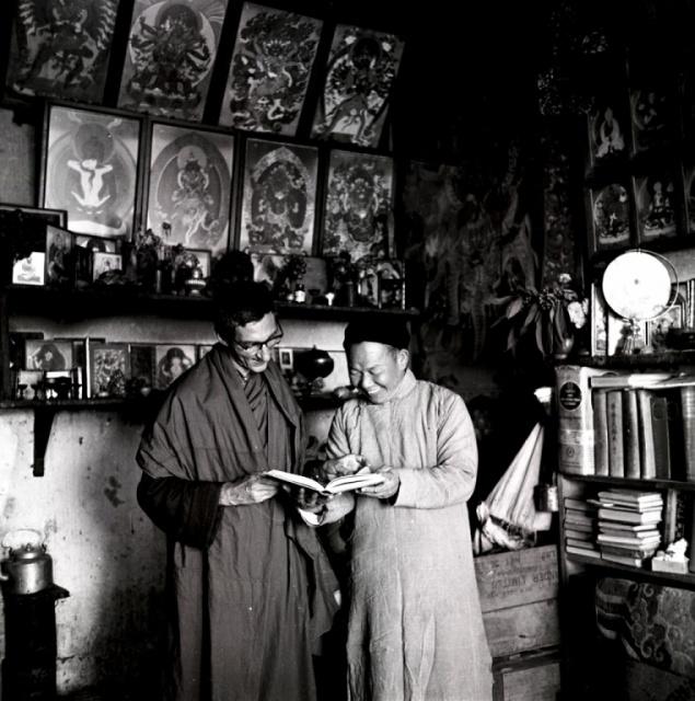 Sangharakshita With Mr Chen
