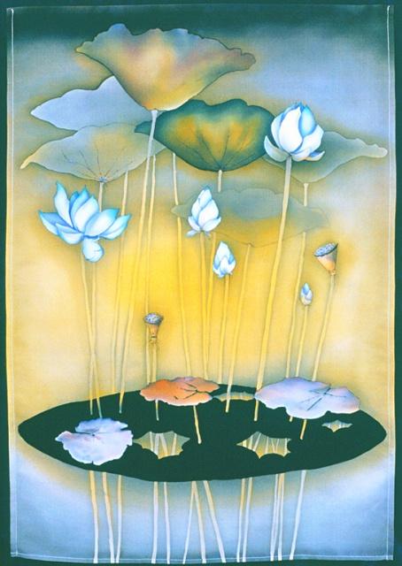 The Blue Lotus of Lumbini