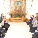 Meditation In The Shrine Room