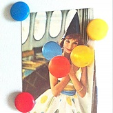 Balloon Lady With Magnets