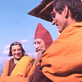 With Lama Govinda and Li Gotami