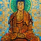 Shakyamuni painted by Aloka