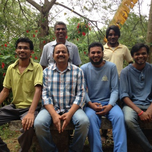 Present Team at Bhaja,  Ashwajeet, Ratnasambhav, Rajmohan, Abhijeet,Atapchitta, Suchandra