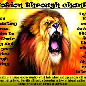 Devotion through Chanting