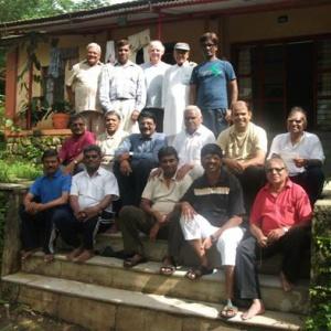 Men's Ordination process training TBM India