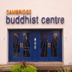 Cambridge Buddhist Centre entrance