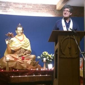 Nagabodhi at Rainy Season Retreat 2014