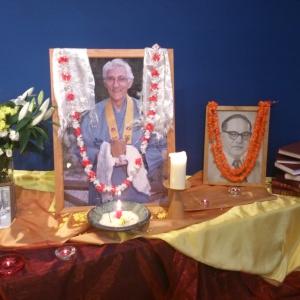 Bhante shrine Rainy Season 2014