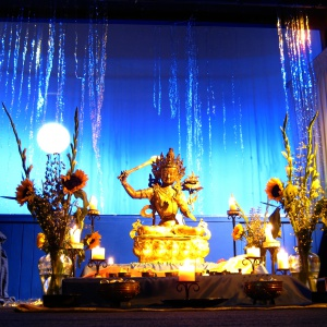 Dharma Day shrine 2008