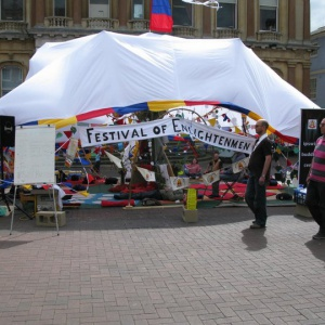 Our Festival of Enlightenment in Ipswich town square
