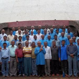 Men's GFR training retreat