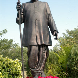 Bronze statue of Dr. Babasaheb Ambedkar