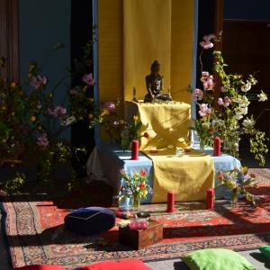 Buddha Day shrine 2012