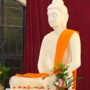 Buddha Rupa in Shrine