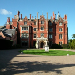 Taplow Court - entrance