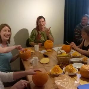 Pumpkin Lantern carving
