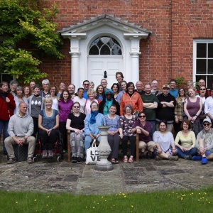 Manchester sangha on retreat over Buddha Day at Adhisthana