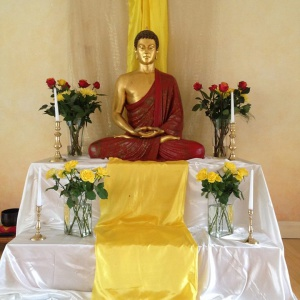 North London Buddhist Centre shrine