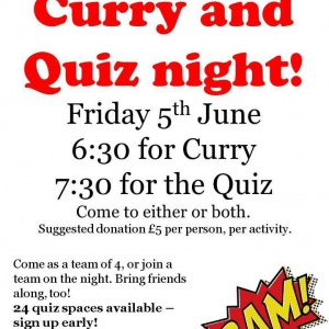Curry & Quiz Night