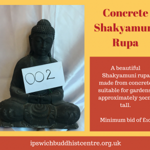 Concrete Shakyamuni Buddha