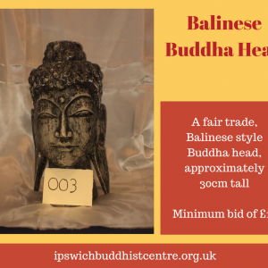 Balinese Buddha Head