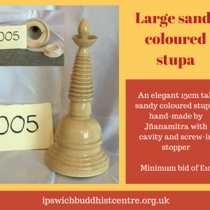 Large Sand-Coloured Stupa