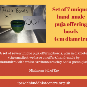 Puja Offering Bowls