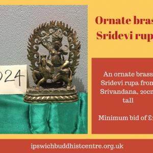 Brass Sridevi Rupa
