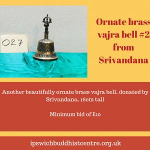 Brass Vajra Bell