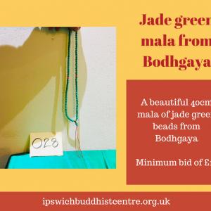 Jade Green Mala Beads