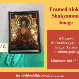 Framed Shakyamuni Aloka Print