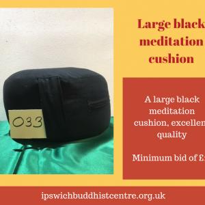 Large meditation cushion