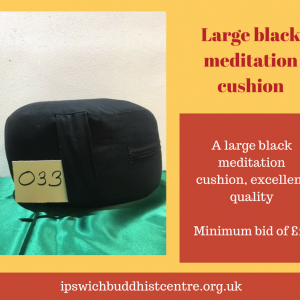 Large meditation cushion