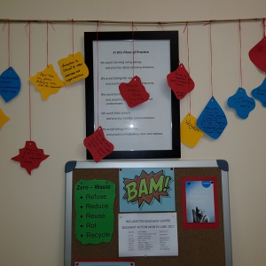 Individual intentions and BAM notice board