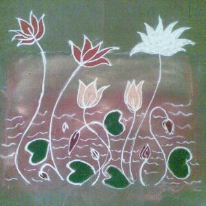 Lotus Pond : Dh. Amrutsur