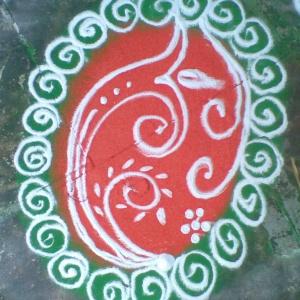 Rangoli 8
