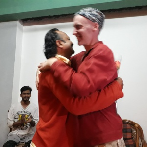 Welcome Greeting by Dh. Vidyaruchi