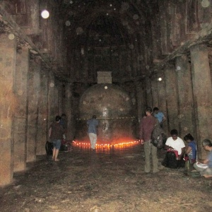 Puja in Caves