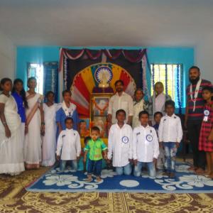 Dh Aryasambhava with elders